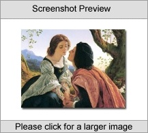 Pre-Raphaelite Art Collection Screenshot